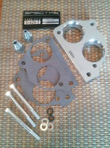 Throttle Body Spacer 11253 Fuel Injection Power Plate 1987 1990 7 4l Gm Chevy C