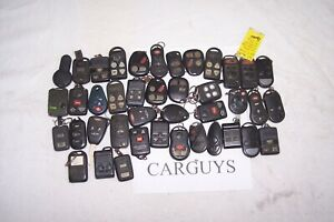 Lot Of 40 Keyless Entry Remotes For Various Brands Jeep Chrysler Gm B Mw