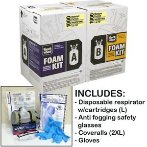 Touch N Seal U2 1000bf Fr Spray Foam Insulation Kit W protective Gear large