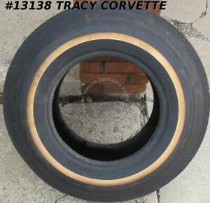 G78 14 Goodyear Whitewall Custom Power Cushion Polyglas Tire Dot Trunk Spare