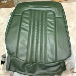 1972 Chevelle Seat Cover Front Bucket And Rear Dark Green Coupe