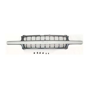 Grille For 99 2002 Chevrolet Silverado 1500 2000 2006 Tahoe Textured Black