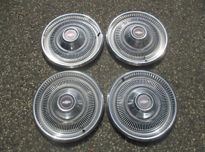 1970 To 1974 Chevy Impala 15 Inch Hubcaps Wheel Covers Set