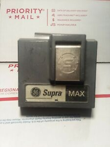 1 Supra Max Car Window Mount Key Lock Box No Key