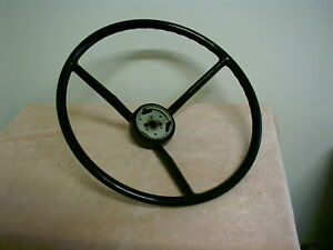 1957 1958 Ford Custom 300 Steering Wheel 17 Inches D 9 19