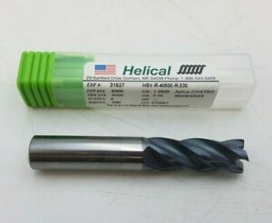 Helical 31527 Carbide End Mill 1 2 X 1 1 4 Aplus Coated Hsv r 405000 r 030 Nos