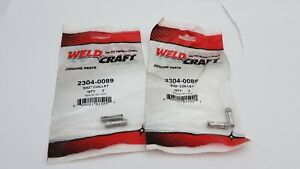 4 Pc Weldcraft 2304 0089 Collet 3 32 A16hp A35 Hp Airco Linde Style Tig Torch