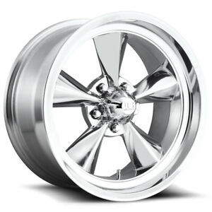 4 Us Mags U108 Standard 15x7 5x4 75 5mm Polished Wheels Rims 15 Inch