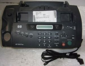 Hp 1040 Fax Sdgob 0403 01 Inkjet Fax Machine See Notes