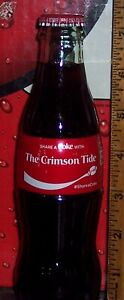 2019 COCA - COLA SHARE A COKE WITH THE CRIMSON TIDE 8 OZ COCA COLA BOTTLE