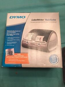 Dymo Labelwriter Twin Turbo Model 69115 Thermal Printer Labels New Open Box