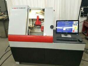 Emco Pc Turn 125 Cnc Lathe With Tool Changer Centroid Touch Screen Watch Vid