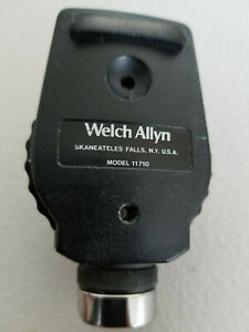 Welch Allyn 3 5v Coaxial Ophthalmoscope Head 11710 head Only pre Owned Tested