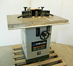 Delta 43 450 Wood Shaper Wood Working Machine 3 Phase Made In Usa