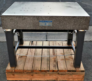 Kinetic System Vibraplane Rock Of Ages Vibration Isolation Granite Surface Plate