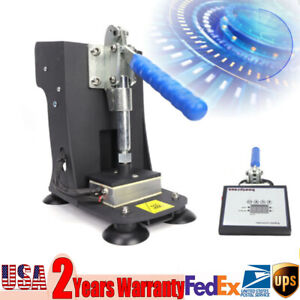 Hot Stamping Machine Leather Pu Heat Press Rosin Extraction Machine Lcd Touch Us