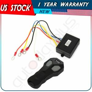 Dc12v Wireless Winch Remote Control Kit Switch Handset For Car atv suv utv truck