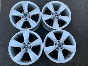 Four 2013 2014 Ford Mustang Factory 18 Wheels Oem Rims 3907 Dr331007ca