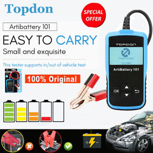 12v Battery Tester Vehicle Auto Charging Cranking Charging Tester Tool Analyzer