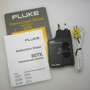 Fluke 80tk Thermocouple Module New 76 K thermocouple