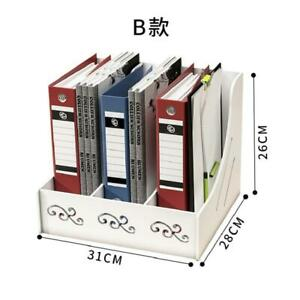 Office Organizer Self assembly Files Case Storage Box 3 section Vertical