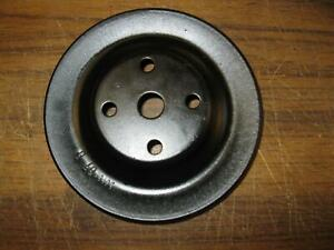 Mopar Plymouth Dodge Water Pump Pulley Oem Clean Painted 5 7 8 X 1 1 8 Charger E