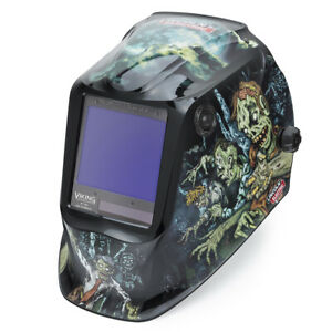 Lincoln Viking 3350 Zombie Welding Helmet K4158 4