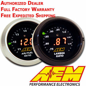 Aem 30 4110 Afr 52mm Wideband O2 Uego Controller Gauge Air Fuel Ratio No Sensor