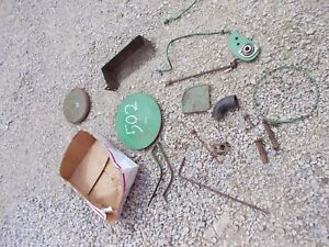 John Deere Jd A B Tractor Parts Pieces Lines Tool Box Tray Linkage Covers Etc