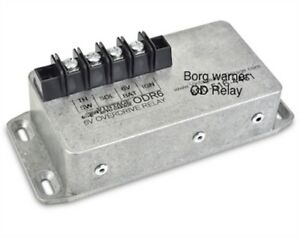 Borg Warner Overdrive R10 R11 Transmission Relay 12 Volts