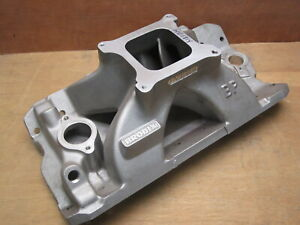 Brodix Hv 1814 Small Block Chevy Aluminum Intake Manifold Bp 18c Series Heads