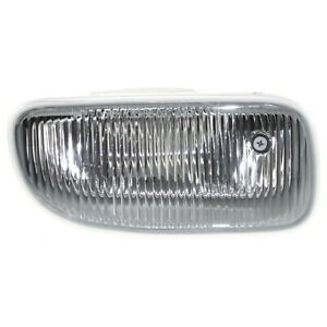 Clear Lens Fog Light For 2002 03 Jeep Grand Cherokee Rh Plastic Lens