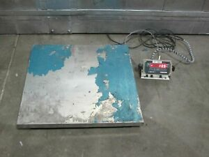 Floor Scale With Tr 1 nk Digital Scale Indicator Brain