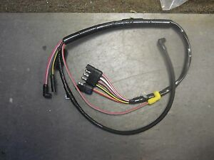 1972 Ford Mustang 302 Engine Gauge Feed Wiring Harness