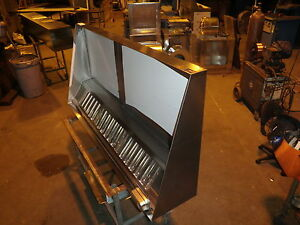 6 Type L Hood Concession Kitchen Grease Hood blower curb Truck Trailers
