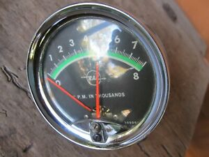 Vintage 1960 S 70 S Made In Usa Rac 8k Rpm Tachometer