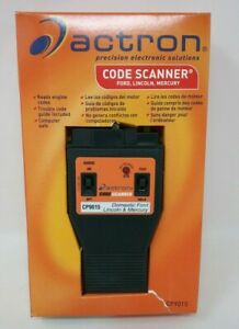 Actron Cp9015 Code Scanner Ford Lincoln Mercury