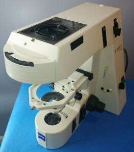 Zeiss Axioplan 2 Imaging 2le Man Manual Fluorescence Microscope With Hal 100