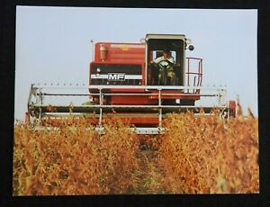 1980 Massey Ferguson Mf 540 550 Mf540 Mf550 Combine Specifications Brochure