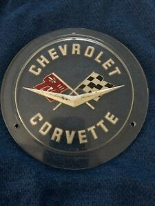 1958 1962 Chevrolet Corvette Oem Hood Trunk Badge Emblem Ornament Trim 6