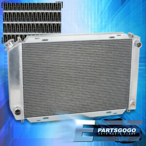 For 79 93 Ford Mustang Foxbody V8 v6 Lx gt cobra 2 row core Aluminum Radiator