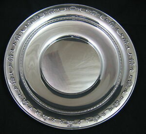 Gorham Sterling Silver Charger Plate 10 1123 256 Grams