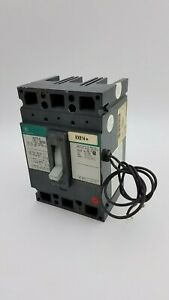 General Electric Ted134100 Circuit Breaker Shunt Trip 100a 3p 480v 100 Amp Green