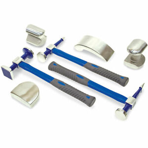 Eastwood 7 Piece Body And Fender Set Auto Body Repair Tools Hammer And Dolly Kit