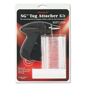 Monarch Sg Tag Attacher Gun 2 Tagger Tail Fasteners Smoke Ea Mnk925046