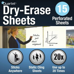 Quartet Dry erase Sheets