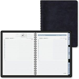 At a glance The Action Planner Daily Appointment Book 6 7 8 X 8 3 4 Black Ea