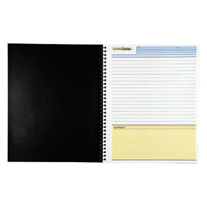 Cambridge Limited Business Notebook Ruled Letter White 80 Sheets pad
