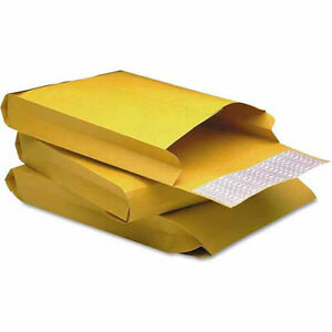 Redi strip Kraft Expansion Envelope Side Seam 9 X 12 X 2 Brown 25 pack