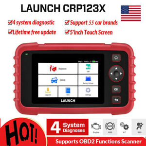 Automotive Scanner Abs Srs Airbag Transmission Epb Launch Obd 2 Diagnostic Tool